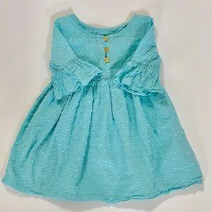 Genuine Kids Blur Swiss Dot Dress